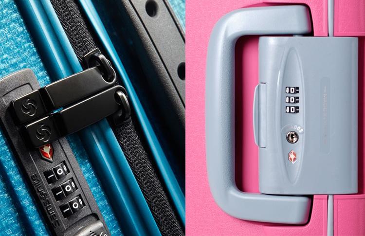 Пластиковые чемоданы: молния или защелки?