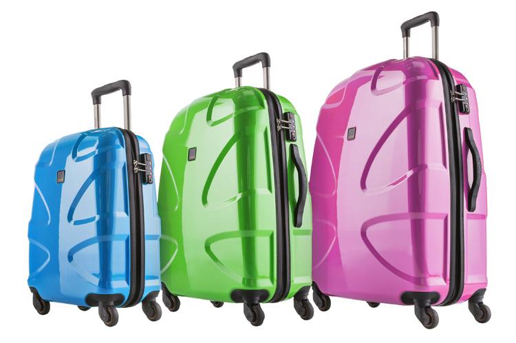 Весенний позитивный настрой с чемоданами Titan X2 Flash!