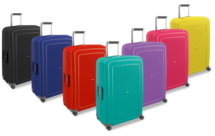 Легкие чемоданы Samsonite S`Cure и S`Cure DLX