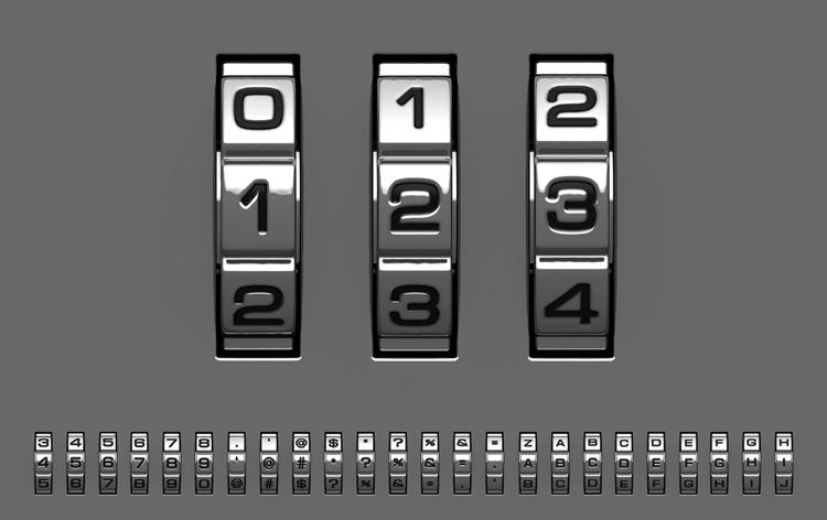 кодовый замок на чемодан
