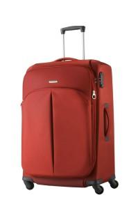 ... Средний чемодан на колесах. Популярные тканевые модели вы найдете ... 0bf1e0846f9