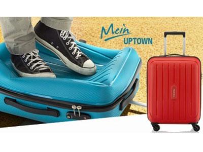 Новинка! Яркие чемоданы в магазине Robinzon.ru