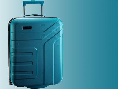 Пластиковые немецкие чемоданы Travelite Vector