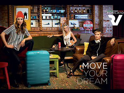 Новые цвета в коллекции итальянских чемоданов Roncato Box