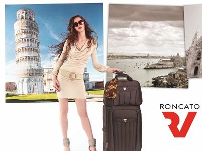 Новинка! Тканевые чемоданы, сумки, рюкзаки от итальянской компании Roncato!