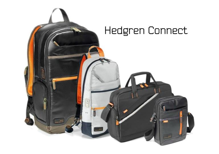 Hedgren Connect — новое поколение сумок и рюкзаков