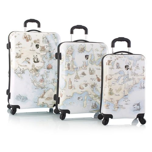 Чемодан Heys 13043-3010-26 Fashion Spinner Illustrated Map M