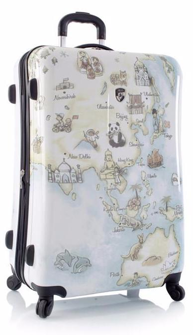 Чемодан Heys 13043-3010-30 Fashion Spinner Illustrated Map L