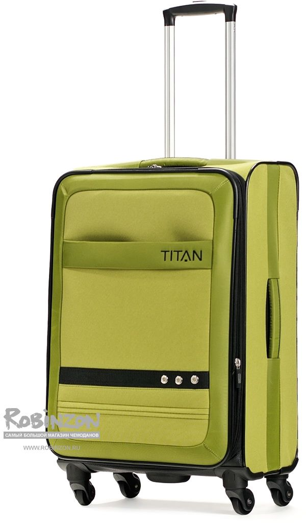 Чемодан Titan 33540503 Family 2 Trolley M 4w