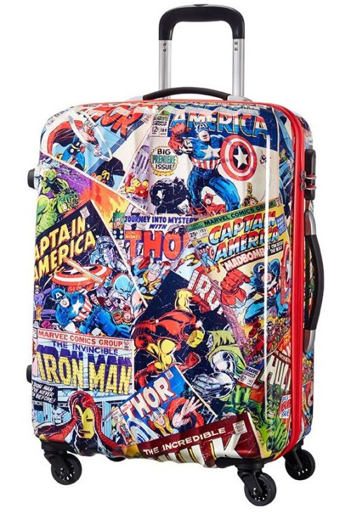 Чемодан American Tourister 21C*007 Marvel Legends Spinner 65/24 Alfatwist