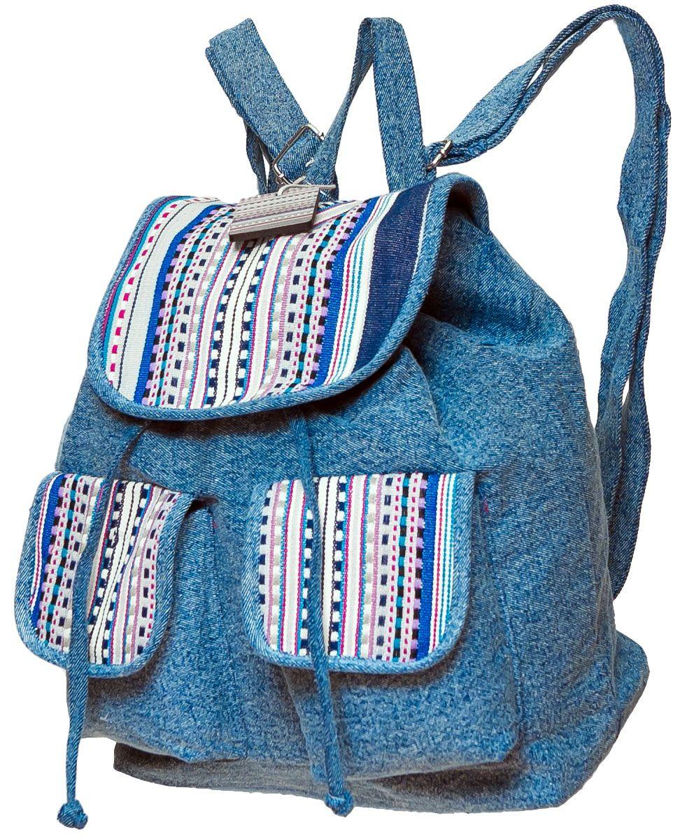 Женский летний рюкзак своими руками
