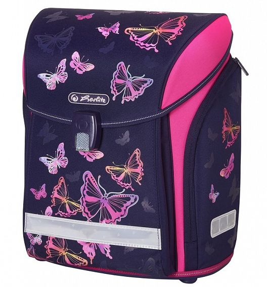 Ранец Herlitz 50020454 Midi New Rainbow Butterfly, без наполнения