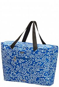 Сумка складная Samsonite U23*17609 Keith Haring Collection Foldaway Tote