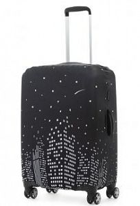 2af682f47c03 Чехол для чемодана средний Eberhart EBH539 M Night Highrise