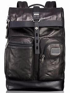 Рюкзак Tumi 92388DL2 Bravo Leather Luke Roll Backpack 15
