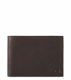 Портмоне Piquadro PU1241B3R/TM Black Square