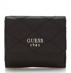 Портмоне Guess SWVG6963440BLA Penelope Quilted-Look Wallet