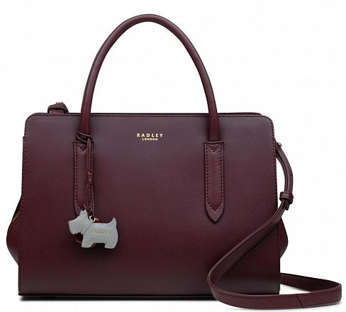 Сумка Radley 13042 Burgundy Liverpool Street Medium Zip-Top Multiway
