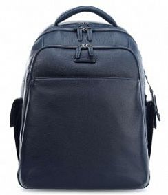 Рюкзак Piquadro CA3444MO Modus Laptop Backpack grained cowhide blue