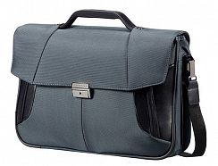 Портфель Samsonite 08N*009 XBR Briefcase 2 Gussets 15,6