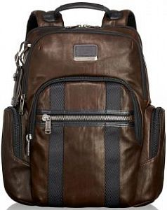 Рюкзак Tumi 932681DBL Alpha Bravo Leather Nellis Laptop Backpack 15""