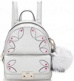 Рюкзак Guess HWMG6967310SIL Varsity Pop Backpack With Appliqués