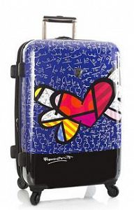 Чемодан Heys 16049 Britto Heart with wings L Exp