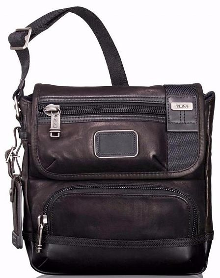 Сумка на плечо Tumi 92306DL2 Bravo Leather Barstow Crossbody