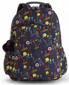 Рюкзак Kipling K2131639T Seoul Go Large Backpack with Laptop Protection