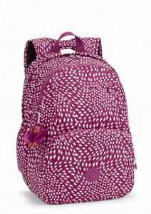 Рюкзак Kipling K16645Z21 Hahnee Printed Large Backpack