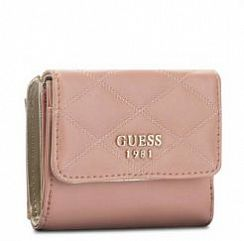 Портмоне Guess SWVG6963440ROS Penelope Quilted-Look Wallet
