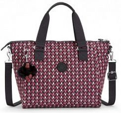 Сумка Kipling K15371K05 Amiel Printed Medium Handbag