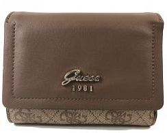 Портмоне Guess SWSG6965430BRO Jacqui SLG Small Wallet