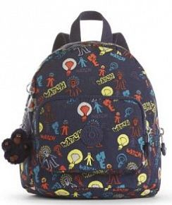 Рюкзак Kipling K2340039T Munchin Printed Mini Backpack