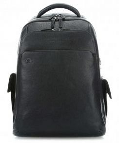 Рюкзак для ноутбука Piquadro CA3444B3BM Black Square Laptop Backpack