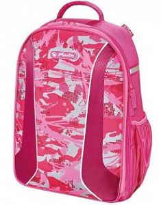 Рюкзак Herlitz 50015092 be.bag AIRGO Camouflage Girl