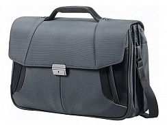 Портфель Samsonite 08N*010 XBR Briefcase 3 Gussets 15,6