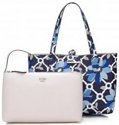 Двухсторонняя сумка Guess HWRF6422150BFS Bobbi Reversible Shopper