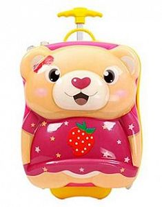 Детский чемодан Bouncie Bear Soft Side Luggage Upright 16""