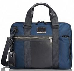Сумка для ноутбука Tumi 232610NVY Alpha Bravo Charleston Compact Brief