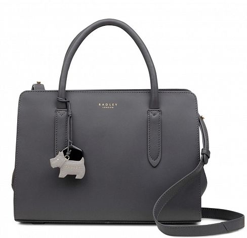 Сумка Radley 13471 Dark Grey Liverpool Street Medium Zip-Top Multiway