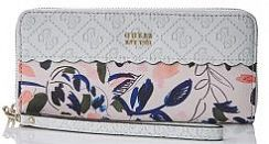 Портмоне Guess SWSW6962460WHI Rayna Floral Zip-Around Wallet